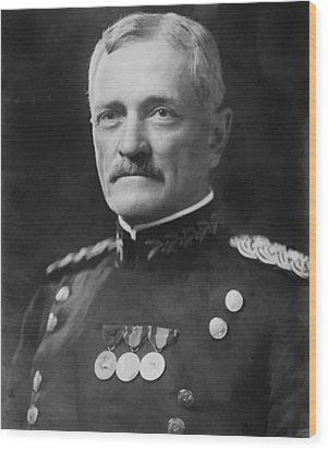 General Pershing Wood Print by War Is Hell Store