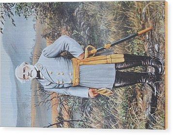 General Robert E. Lee Wood Print