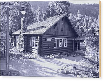 General Store Wood Print by Larry Keahey