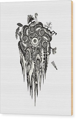 Generation Wood Print