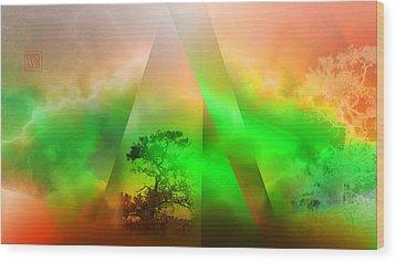 Genesis Wood Print by Dan Turner