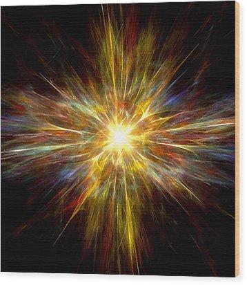 Genesis Wood Print by Steve K