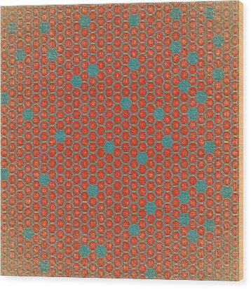 Wood Print featuring the digital art Geometric 1 by Bonnie Bruno