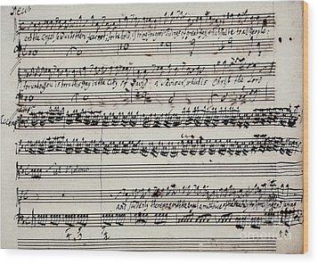 George Frederick Handel Wood Print by Granger