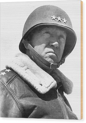 George S. Patton Unknown Date Wood Print