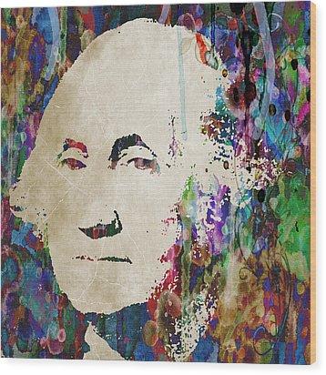 George Washington President Art Wood Print