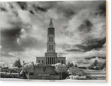 George Washinton Masonic Memorial Wood Print by Paul Seymour