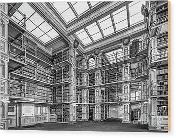 Georgetown University Riggs Library Wood Print