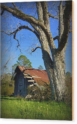 Georgia Barn Wood Print