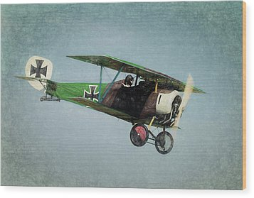 Wood Print featuring the photograph German Fighter by James Barber