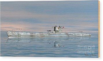 German Submarine U-99 Wood Print