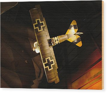 German Wwi Attack Wood Print by Tommy Anderson