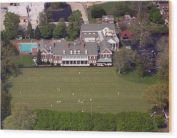 Germantown Cricket Club 3 Wood Print
