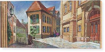 Germany Baden-baden 04 Wood Print by Yuriy  Shevchuk