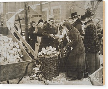 Germany: Inflation, 1923 Wood Print by Granger