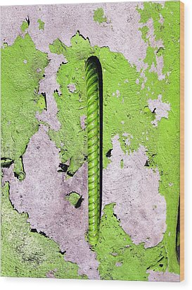 Wood Print featuring the photograph Get A Handle by Olivier Calas