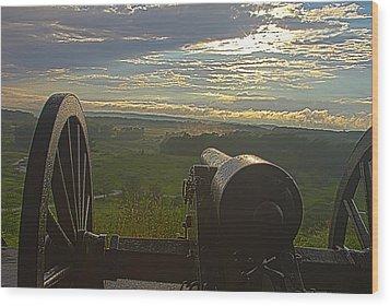 Gettysburg Canon Wood Print