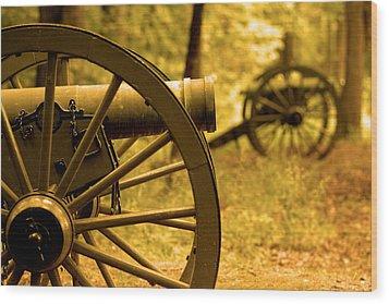 Gettysburg Wood Print by Don Wolf