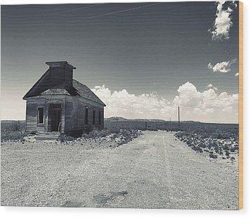 Ghost Church Wood Print