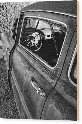 Ghost Driver Wood Print