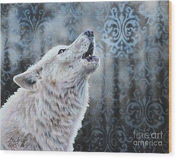 Ghost Wood Print