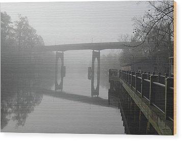 Ghost River Wood Print by Gordon Mooneyhan