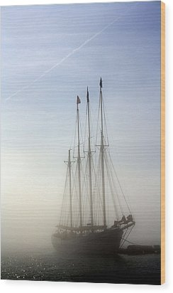 Wood Print featuring the photograph Ghost Ship by Greg DeBeck