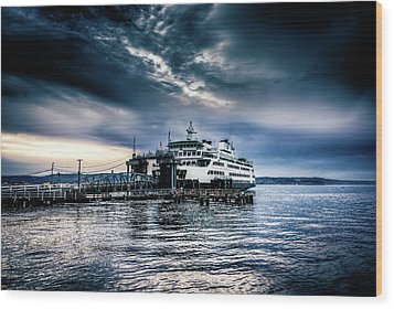Wood Print featuring the photograph Ghost Ship by Spencer McDonald