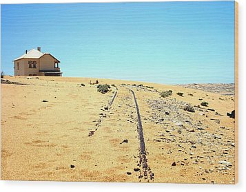 Wood Print featuring the photograph Ghost Town by Riana Van Staden