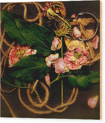 Wood Print featuring the photograph Giardino Romantico by Andrew Gillette