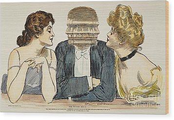 Gibson Girls, 1903 Wood Print by Granger