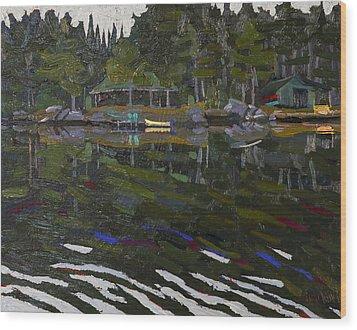 Gilmour Island Wood Print