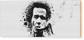 Gimme Shelter Wood Print by Laurence Adamson