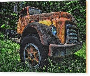 Jimmy Diesel Wood Print