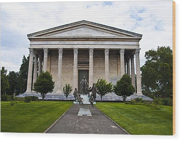 Girard College Philadelphia Wood Print by Bill Cannon
