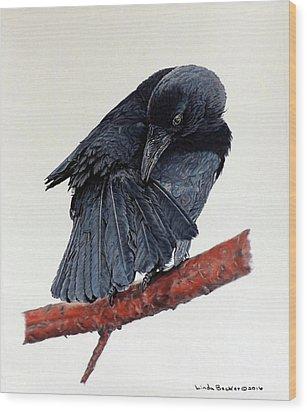 Girdie Wood Print