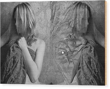 Girl #4335 Wood Print by Andrey Godyaykin