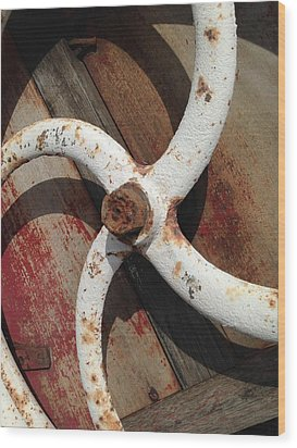Wood Print featuring the photograph Give It A Turn by Olivier Calas