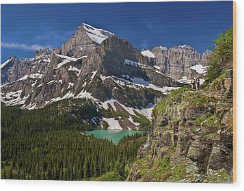 Glacier Backcountry 2 Wood Print