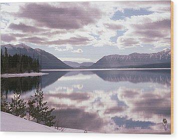 Glacier National Park 6 Wood Print