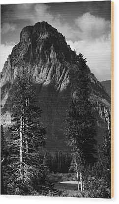 Glacier National Park Fifty Three Wood Print