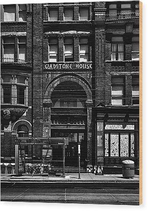 Wood Print featuring the photograph Gladstone Hotel Toronto Canada No 1 by Brian Carson