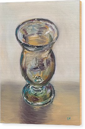 Glass Goblet Wood Print