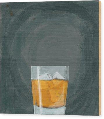 Glass, Ice,  Wood Print