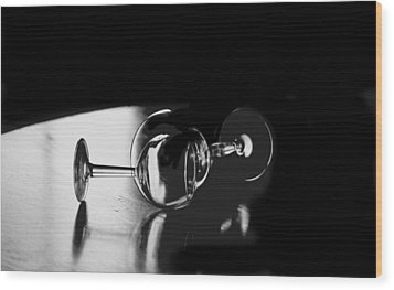 Glass Within Glass Wood Print by Tom Fant