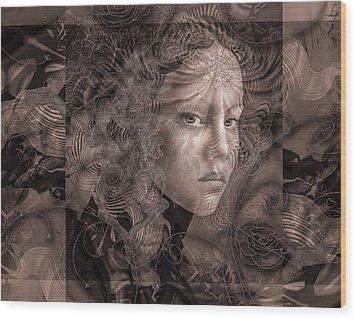 Glaze Wood Print