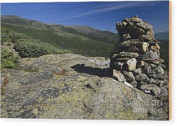 Glen Boulder Trail - White Mountains New Hampshire Usa Wood Print by Erin Paul Donovan