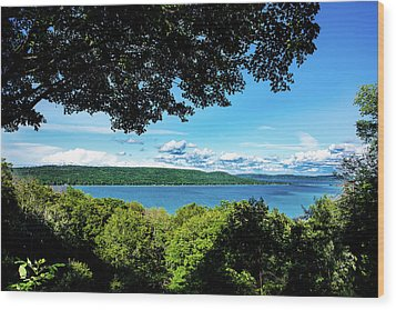 Glen Lake Wood Print