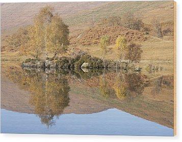 Glengarry Reflection Wood Print