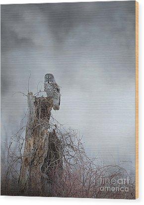 Gloomy Sunday  Wood Print